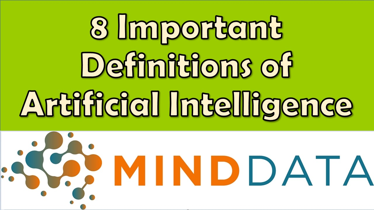 Best Definitions from Harvard, Stanford, MIT, CMU AI